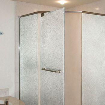 Cast Glass Shower