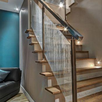 rampe de verre karma. Black Bedroom Furniture Sets. Home Design Ideas